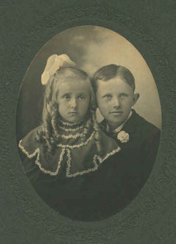 Marion & Clayton Fisher, Circa 1906