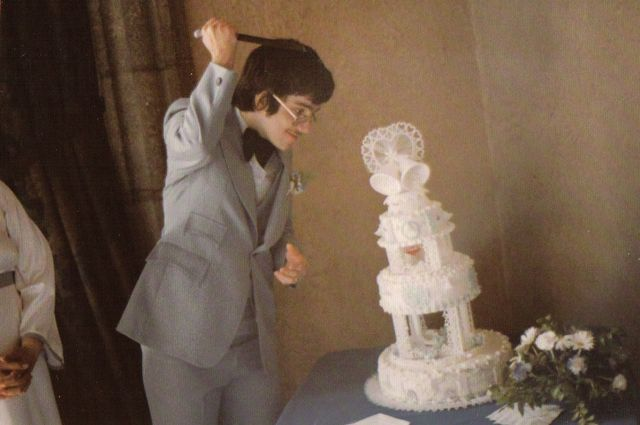 Jim Mann and the Cake...