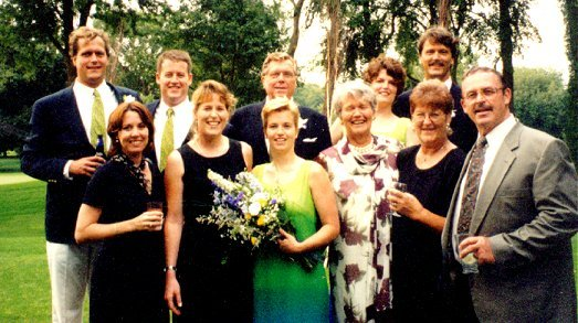 Robert and Anne Rahm's Wedding, August 1998