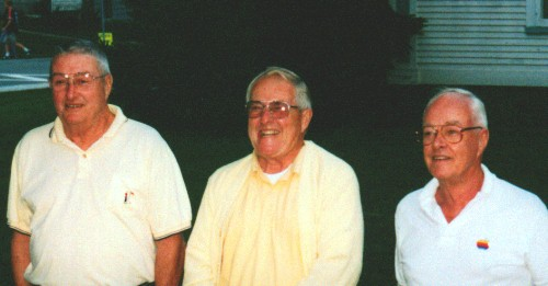 Brothers George, Winslow and Bill Trask