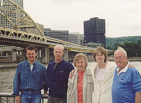 Jeff, Terry, Ruth, Carrie, and Bill Trask