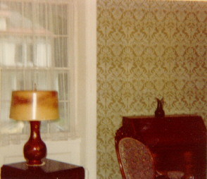 Trask Estate Sale, Living Room, August 1980