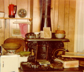 Trask Estate Sale, Franklin Stove, August 1980