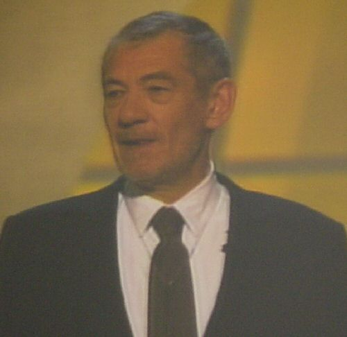 Sir Ian McKellan, an Oscar Ceremony Presenter