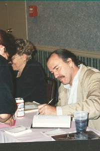 Barbara Hambly and George Alec Effinger, World Fantasy Convention, New Orleans 1994