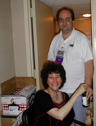Boston in 2004 Party - Janice Gelb & Stephen Boucher