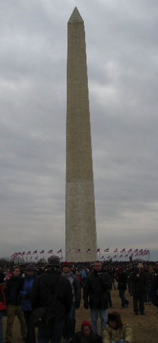 Sunday, January 18 - Washington Monument