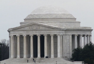 Sunday, January 18 - Jefferson Memorial