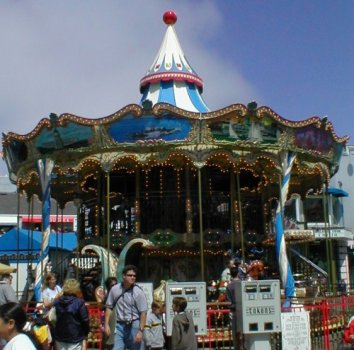 The Carousel at Fishermans' Wharf