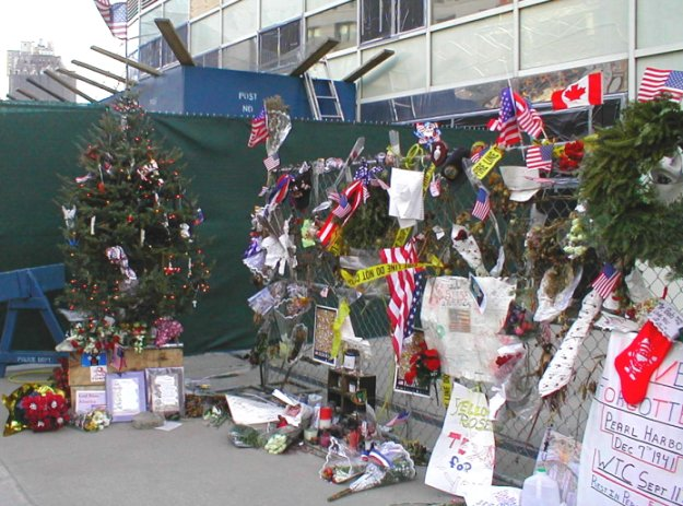 WTC Tribute Area