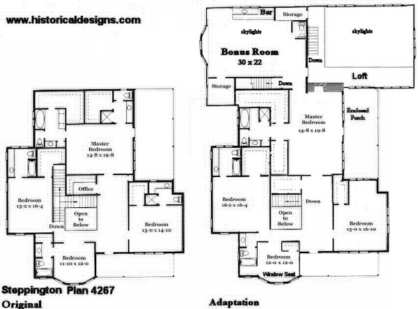 Southern Cottage House Plans - Chatham Design Group House Plans